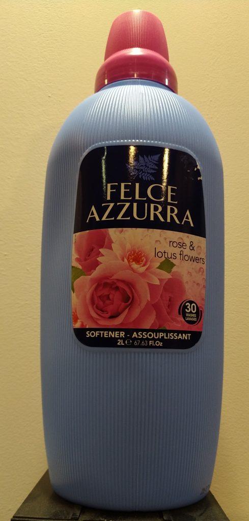 Plyn do płukania Felce Azzurra - Róża i Kwiat lotosu